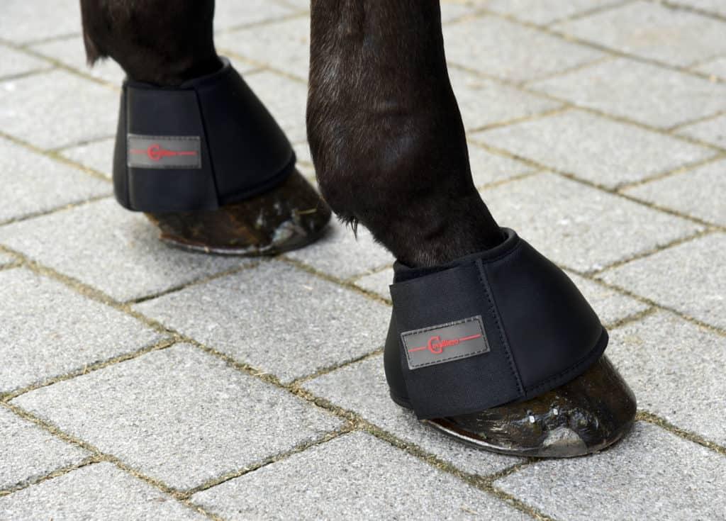 Kaloszki dla konia Protecto Covalliero czarny FUL, COB, PONY
