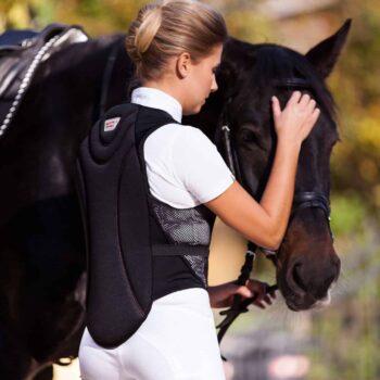 Ochraniacz na kręgosłup ProtectoSoft Covalliero kamizelki-ochronne, dla-jezdzca, bezpieczenstwo-jezdzca