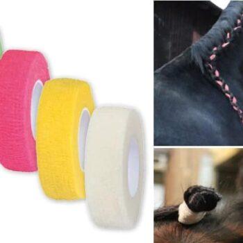 Bandaż elastyczny Equilastic Kerbl do-grzywy-i-ogona-akcesoria-do-czyszczenia