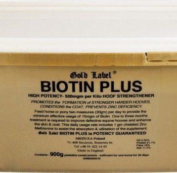 Biotin Plus Gold Label biotyna z cynkiem suplementy, pasze-i-witaminy