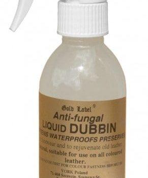Anti Fungal Liquid Dubbin Gold Label pielegnacja-wyrobow-skorzanych