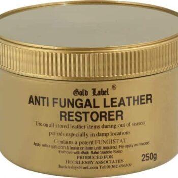 Anti Fungal Leather Restorer Gold Label pielegnacja-wyrobow-skorzanych