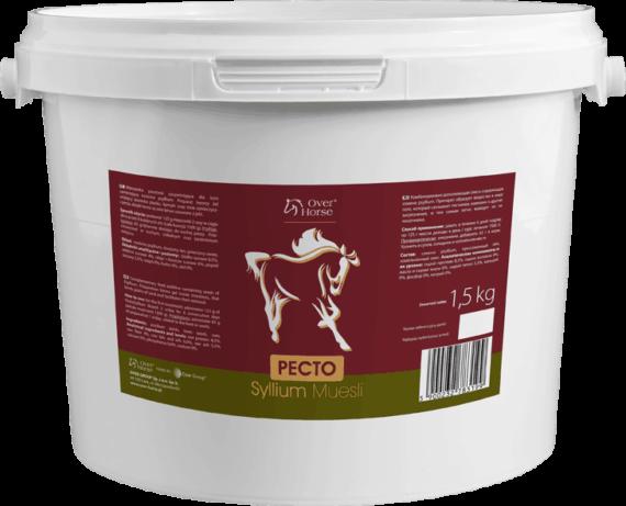 Pectosyllium Muesli Over Horse 1,5kg suplementy, pasze-i-witaminy