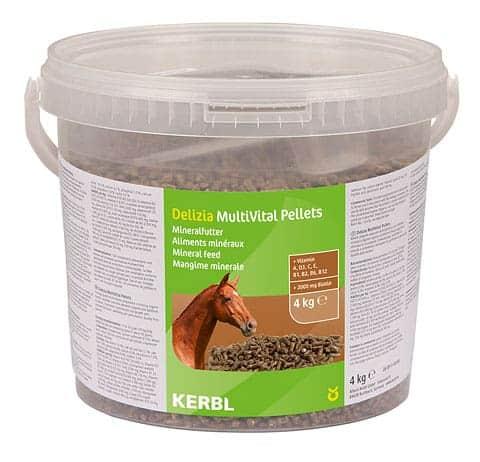 Witaminy dla koni Kerbl MultiVital 4kg suplementy, pasze-i-witaminy