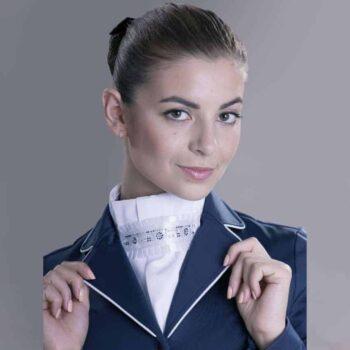Plastron FP PIROUETTE plastrony-krawaty, dla-jezdzca