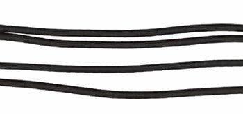 Czambon gumowy York czarny wytoki-napiersniki, lonzowanie, akcesoria-lonzowanie