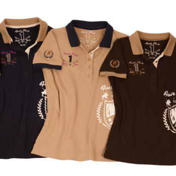 Polo damskie FP Fabienne odziez, dla-jezdzca, bluzy-i-koszulki