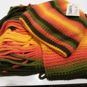 Czapka zimowa w zestawie z szalikiem SABFIL dla-jezdzca, czapki-i-szaliki