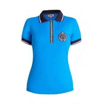 Koszulka damska polo FP LAURA odziez, dla-jezdzca, bluzy-i-koszulki