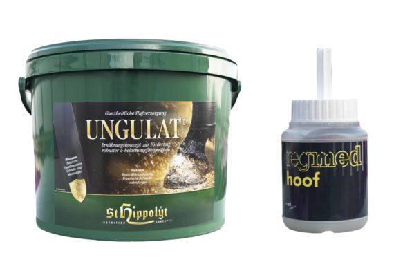 Ungulat + Regmed Hoof ZESTAW Medvetico suplementy, pasze-i-witaminy, kosmetyki-i-preparaty, preparaty-do-kopyt