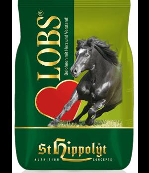 Cukierki dla konia ziołowo-warzywne Lobs 1 kg StHippolyt smakolyki-lizawki, pasze-i-witaminy