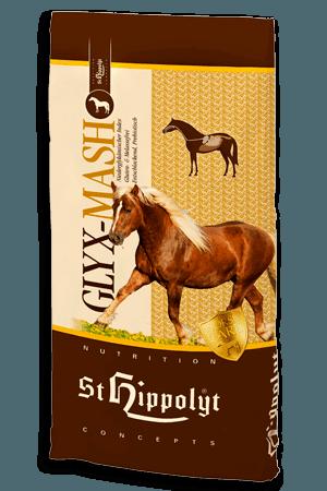 Mesz dla konia Glyx - Mash 15kg (otyłość, ochwat, alergie pokarmowe) StHippolyt pasze-i-witaminy, pasze