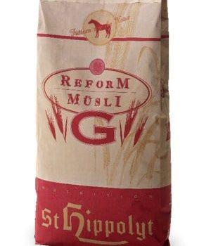 PASZA BIAŁKOWA DLA KONI NERWOWYCH Reformmusli G 20 kg StHippolyt pasze-i-witaminy, pasze