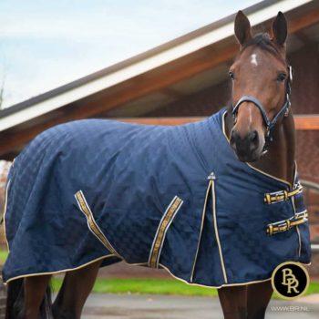 Derka Padokowa BR High Neck Passion 800D - wypełnienie 150g dla-konia, derki-padokowe, derki, br-jesien-zima-2018