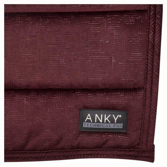 Pad ujeżdżeniowy ANKY Velvet XB17007 promocje, dla-konia, czapraki, anky-jesien-zima-2018