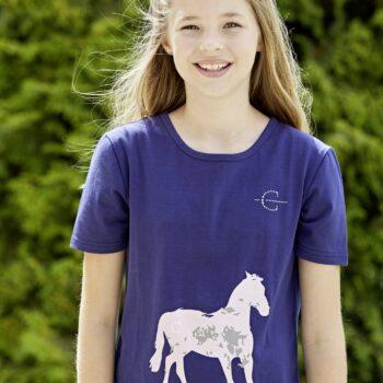 Koszulka dziecięca Layla Covalliero W/L 2019 odziez, dla-jezdzca, covalliero-wiosna-lato-2019, bluzy-i-koszulki