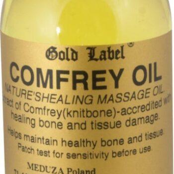 Comfrey Oil- olejek z żywokostu GOLD LABEL 250ml kosmetyki-i-preparaty, preparaty-rozgrzewajace-i-chlodzace