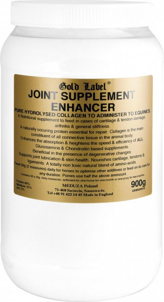 Joint Supplement Enhancer z kolagenem GOLD LABEL 900g suplementy, nowosci