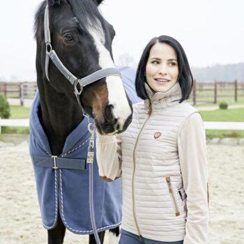Kurtka z polarowymi rękawami Sara COVALLIERO jesień/zima 2019 nowosci, kamielki-i-kurtki, dla-jezdzca, covalliero-jesien-zima-2019