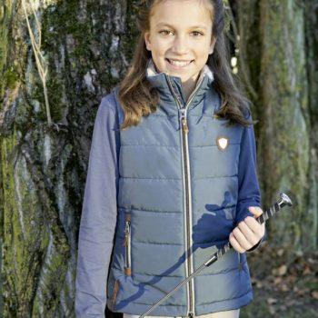 Kamizelka dziecięca Jasmin COVALLIERO jesień/zima 2019 nowosci, kamielki-i-kurtki, dla-jezdzca, covalliero-jesien-zima-2019