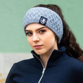 Opaska na głowę Rose EQ.QUEEN nowosci, eq-queen-jesien-zima-2019, dla-jezdzca, czapki-i-szaliki