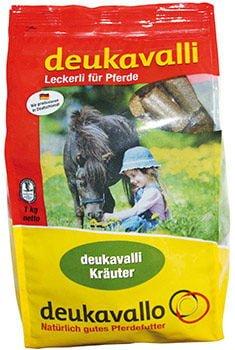Cukierki dla koni DEUKAVALLI ziołowe 1 kg nowosci, smakolyki-lizawki, pasze-i-witaminy