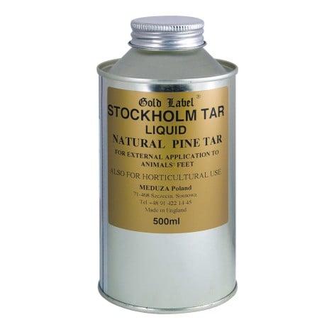 Dziegieć - smoła sosnowa Stockholm Tar Liquid GOLD LABEL nowosci, kosmetyki-i-preparaty, preparaty-do-kopyt, dla-konia