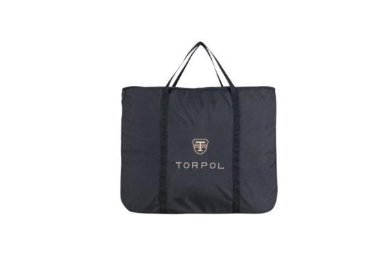 Torba na czapraki czarna- TORPOL torby, nowosci, dla-jezdzca, akcesoria