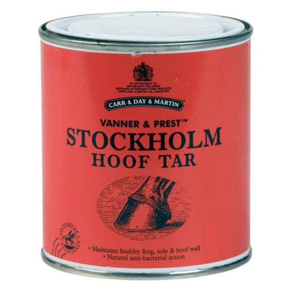 C&D&M VANNER & PREST STOCKHOLM HOOF TAR - dziegieć sosnowy 455ml nowosci, kosmetyki-i-preparaty, preparaty-do-kopyt, dla-konia