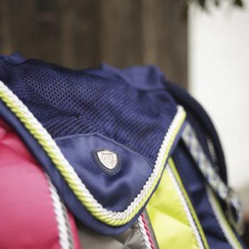 nauszniki Covalliero Collection W/L 2020 granatowy nauszniki-maski, nauszniki-nauszniki-maski, kolekcje, dla-konia, covalliero-wiosna-lato-2020, covalliero