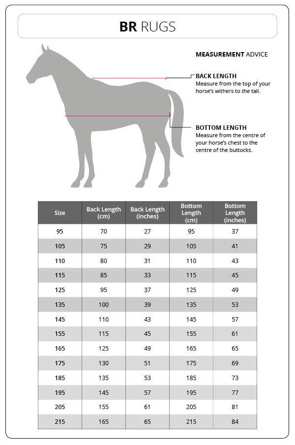 tabela rozmiarów derek BR