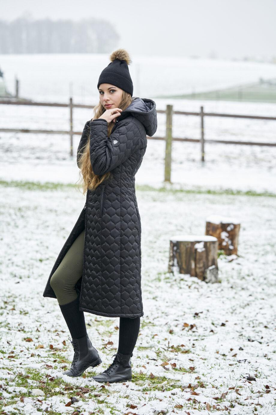 płaszcz Covalliero kolekcj jesień zima 2021