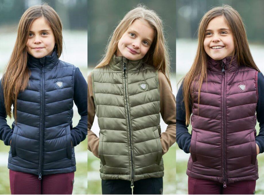 kamizelka dziecięca Covalliero kolekcja jesień zima 2021